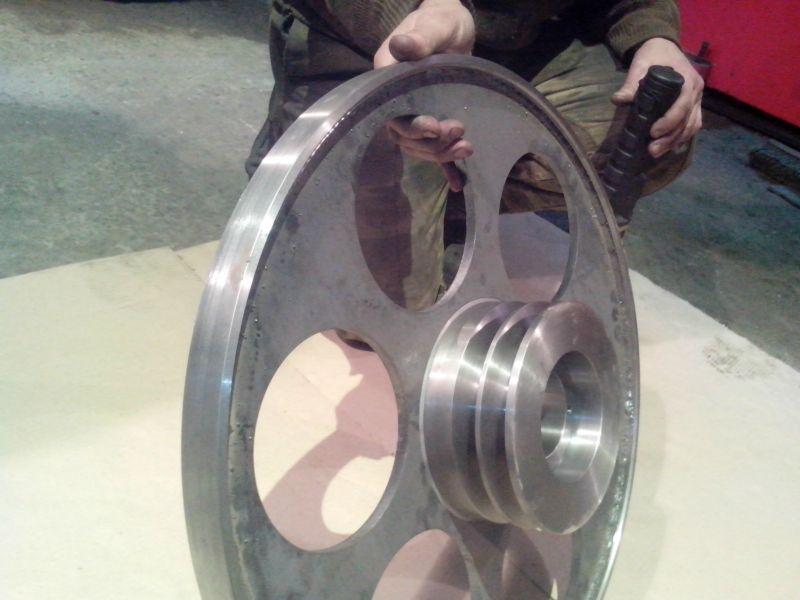 Как сделать ведущее колесо